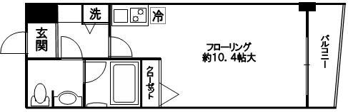 間取りクレアール赤坂