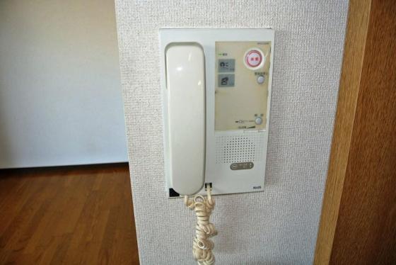 設備安心のインターホンも完備。