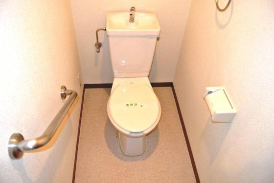 トイレ清潔感あふれるトイレです。