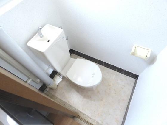 トイレすっきり清潔なトイレ。