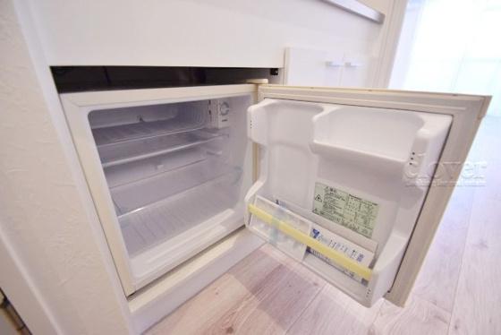 キッチン冷蔵庫完備
