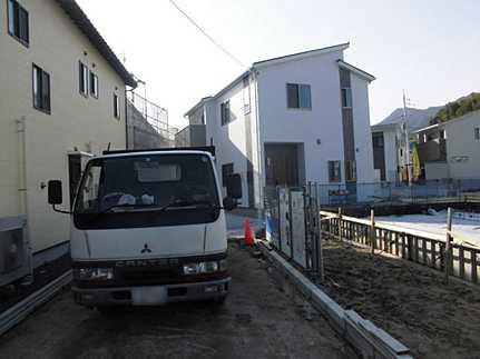 外観オール電化・駐車2台可 バス停まで徒歩1分