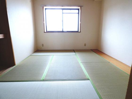 寝室畳のお部屋は落ち着きますね。