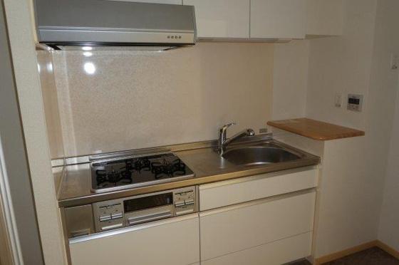 キッチン3口ガスコンロ付きシステムキッチン