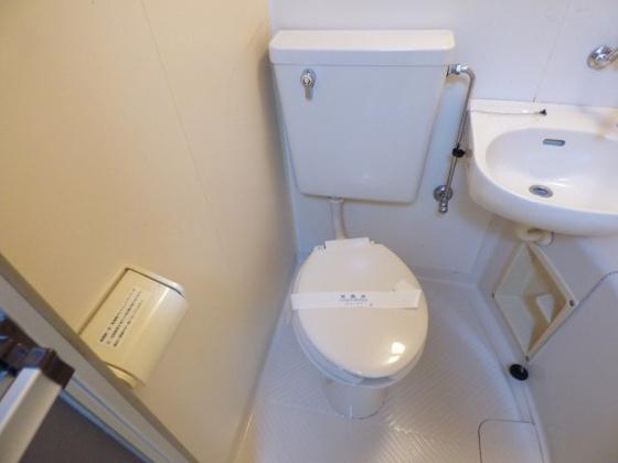 トイレシンプルでキレイなトイレ。