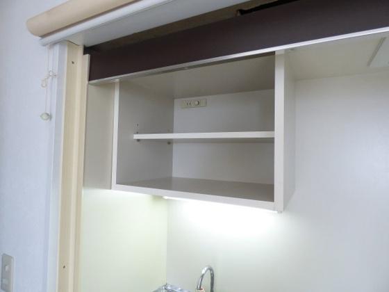 その他キッチン上に収納棚があります。