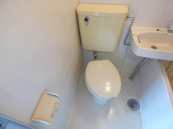 トイレすっきり爽やかなトイレ。