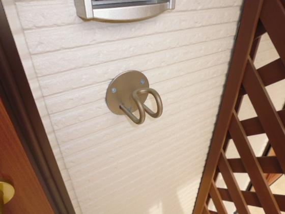 玄関リードフック