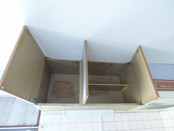 その他キッチン上部の収納スペース。