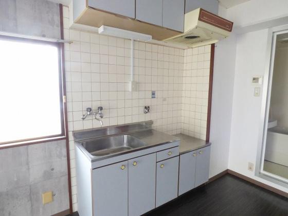 キッチン大きくて使いやすいキッチン。