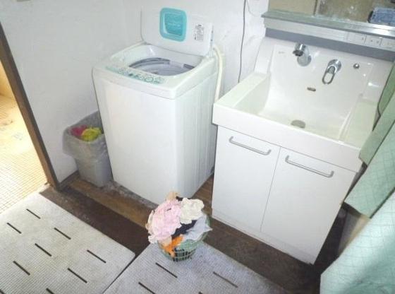 洗面所共用スペースです。