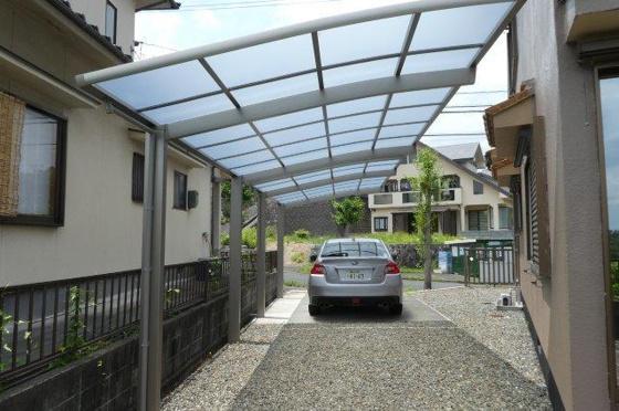 駐車場屋根付き