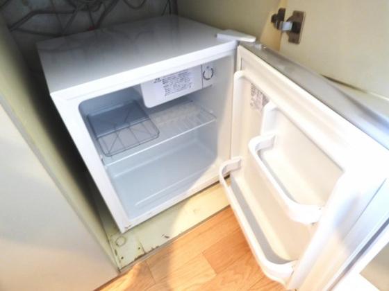 その他便利なミニ冷蔵庫も完備。
