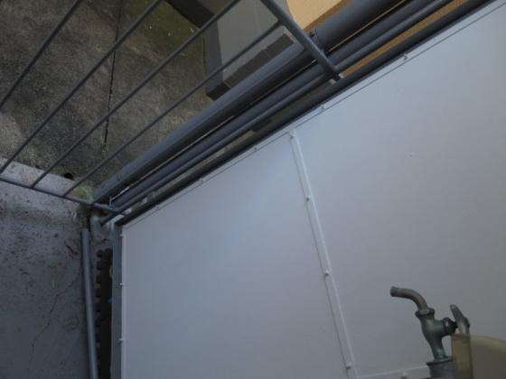 バルコニー外からの目が気にならないバルコニーで洗濯物が干せます
