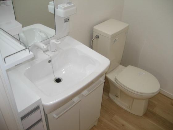 洗面所※写真は以前のものです。