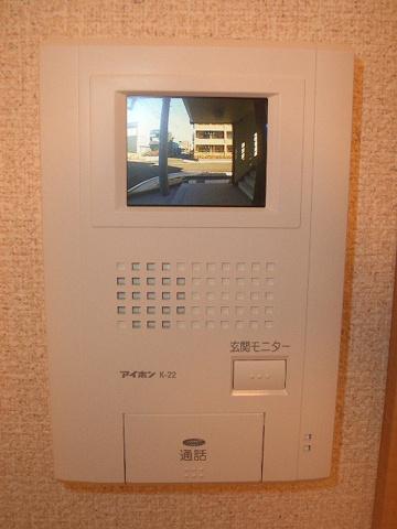 セキュリティTVモニター付きインターホン