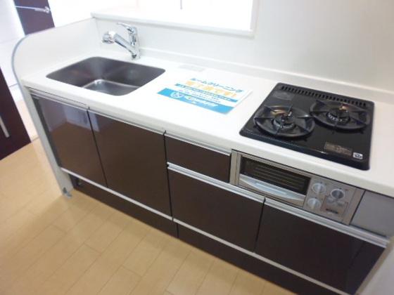キッチン2口ガスコンロ