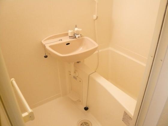 浴室洗面台付き