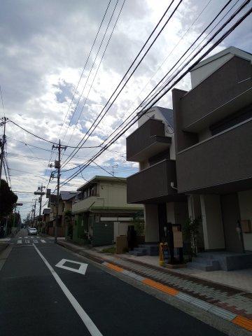 前面道路含む現地写真令和2年9月撮影