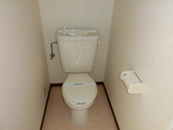 トイレ温水洗浄便座を新規取り付け