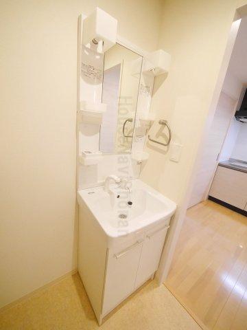 洗面所室内写真は別室、同タイプの写真となります。