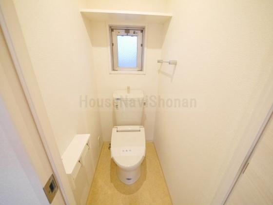 トイレ室内写真は別室、同タイプの写真となります。