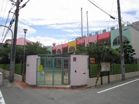 その他あべの翔学高等学校附属幼稚園まで約40mです