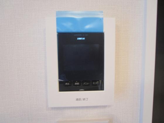 安全・安心・便利なTVモニター付きインターホン新調しました