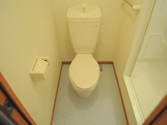 その他収納棚付きのキレイなトイレです。