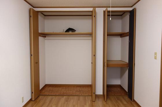 収納広々とした収納スペース