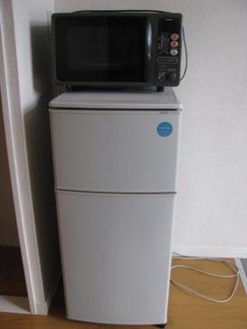キッチン冷蔵庫 電子レンジ