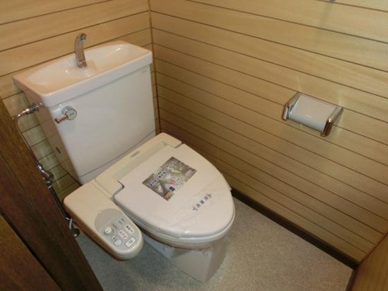トイレ・ウォシュレット付です