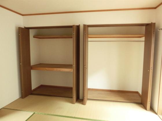 和室収納スペースが2ヶ所