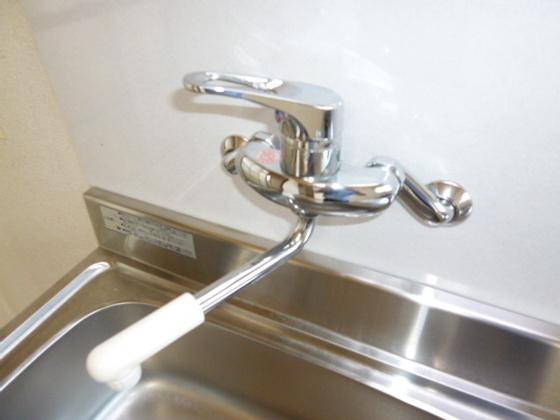 キッチンシングルレバー混合水栓