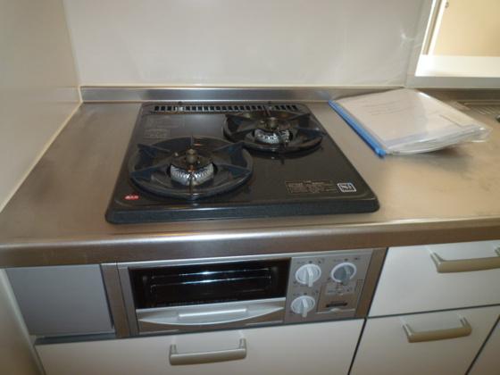キッチンガスコンロ付システムキッチン