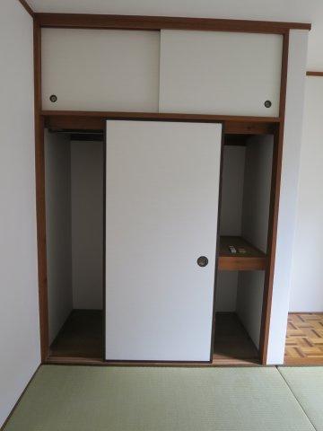 収納専用の収納スペースです