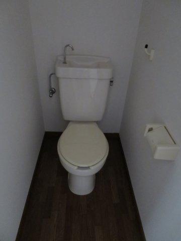 トイレゆったりとした空間のトイレです