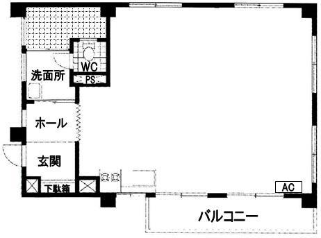 間取り渋谷アジアマンション