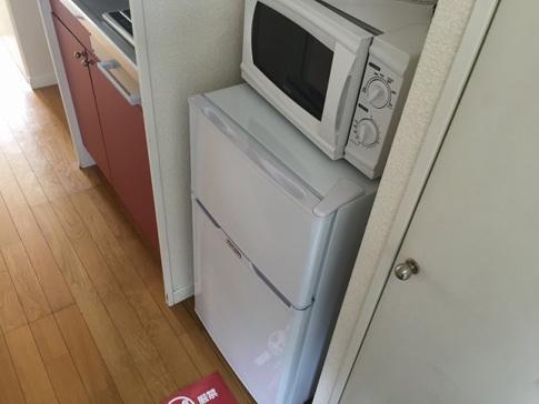 キッチン冷蔵庫・電子レンジ