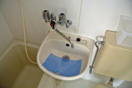 洗面所コンパクトサイズの洗面台