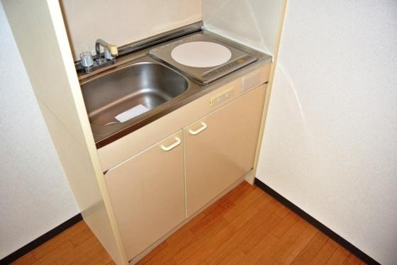 キッチンお手入れが簡単なIHコンロ。
