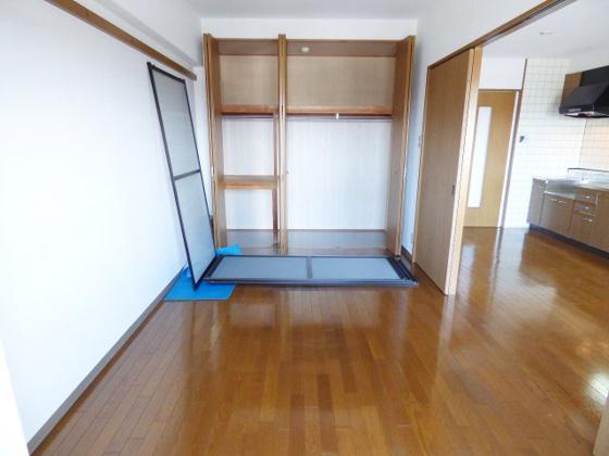 収納大容量収納でお部屋すっきり。