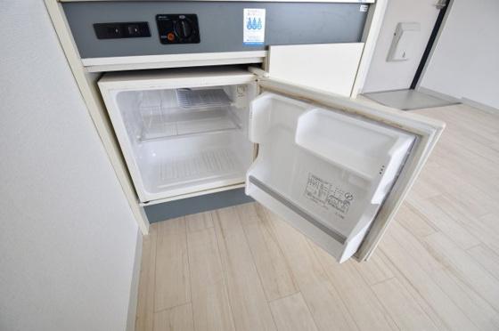 その他うれしいミニ冷蔵庫完備。