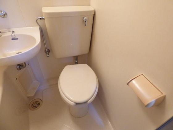トイレお手入れがとてもラクですよ。