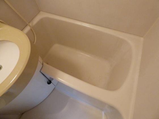 浴室疲れを癒すバスルーム。
