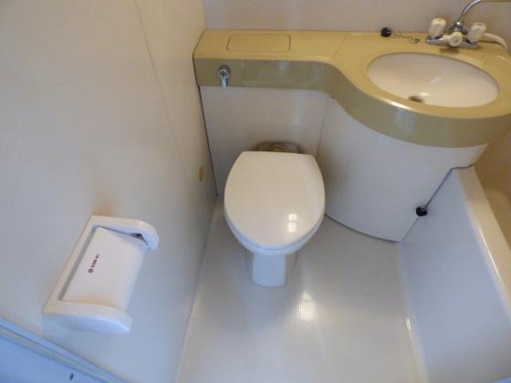 トイレシンプルでお掃除も簡単です。