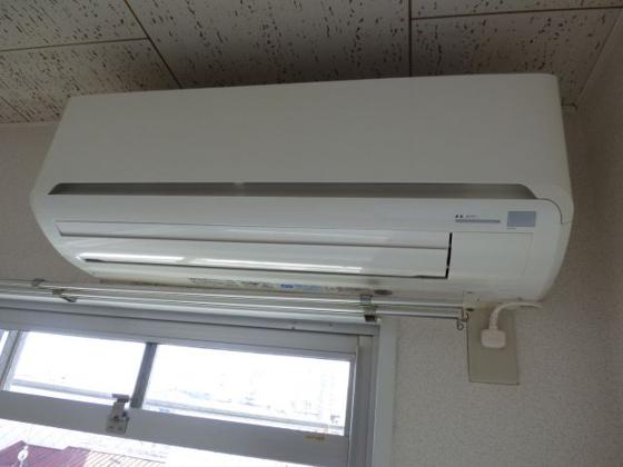 設備快適なエアコン完備です。