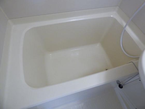 浴室単身さんにちょうどいいサイズ。