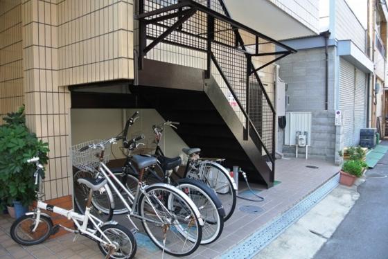 その他自転車はこちらへどうぞ。