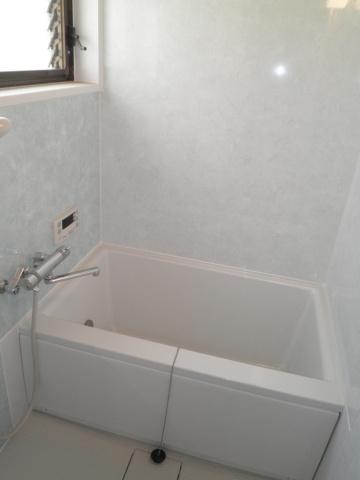 浴室洗濯機置場